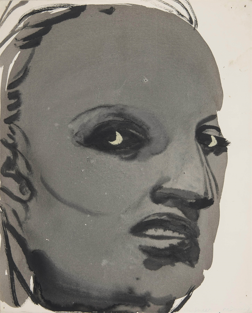 Marlene Dumas-The Sneer-1996