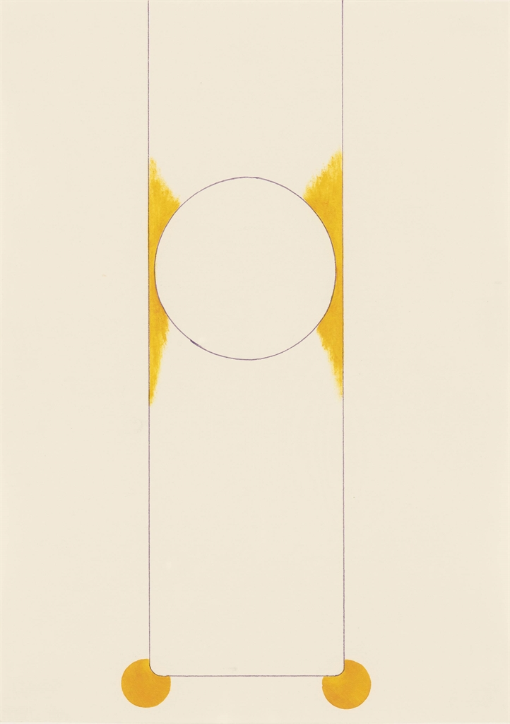 Tomma Abts-Untitled #6-1997