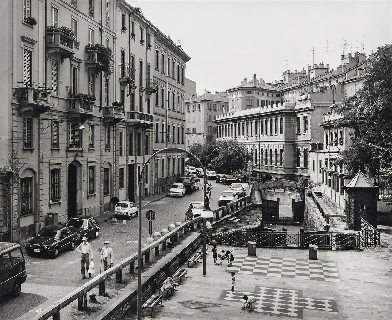 Thomas Struth-Via San Marco, Milano-1992