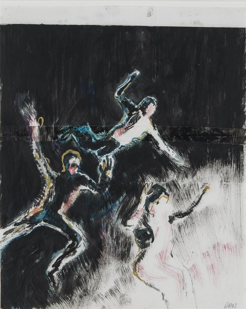 Daniel Richter-Gestalten, Nachts (Create, At Night)-2003