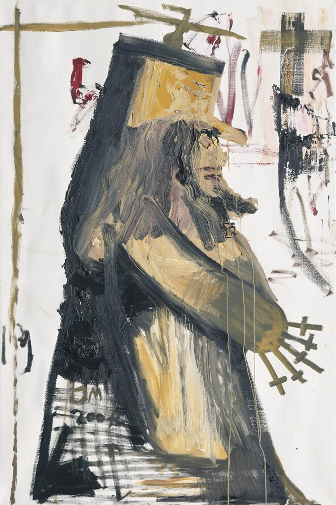 Jonathan Meese-Mein Kindermaedchen Meesys (My Nanny 'Meesys')-2004