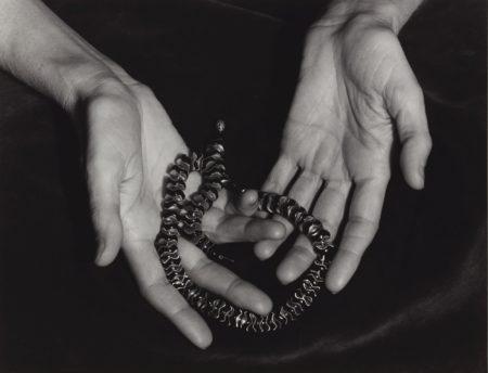 Ansel Adams-Selected Images ('Hands of Annette Rosenshine, San Francisco, California,' 'Gottardo Piazzoni in his studio, San Francisco, California,' and 'Old California St. Firehouse, San Francisco, Ca.)-1930
