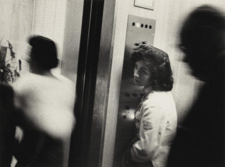 Robert Frank-Miami (Elevator, Miami Beach Hotel)-1955