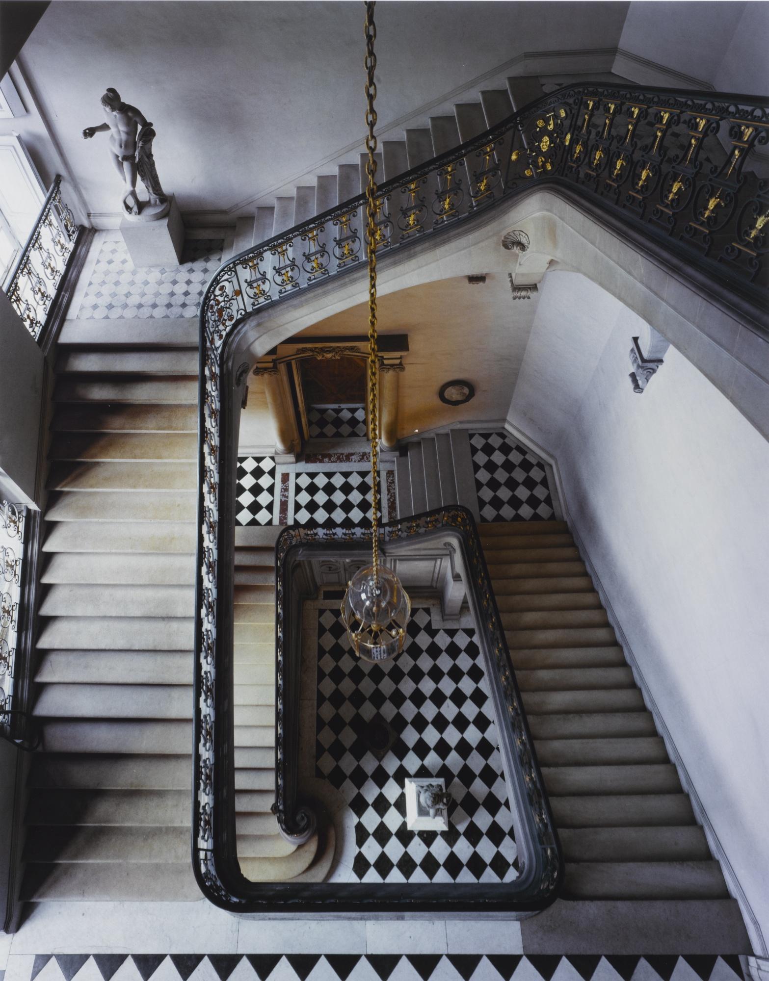 Robert Polidori-Questel Staircase, Chateau De Versailles-1985