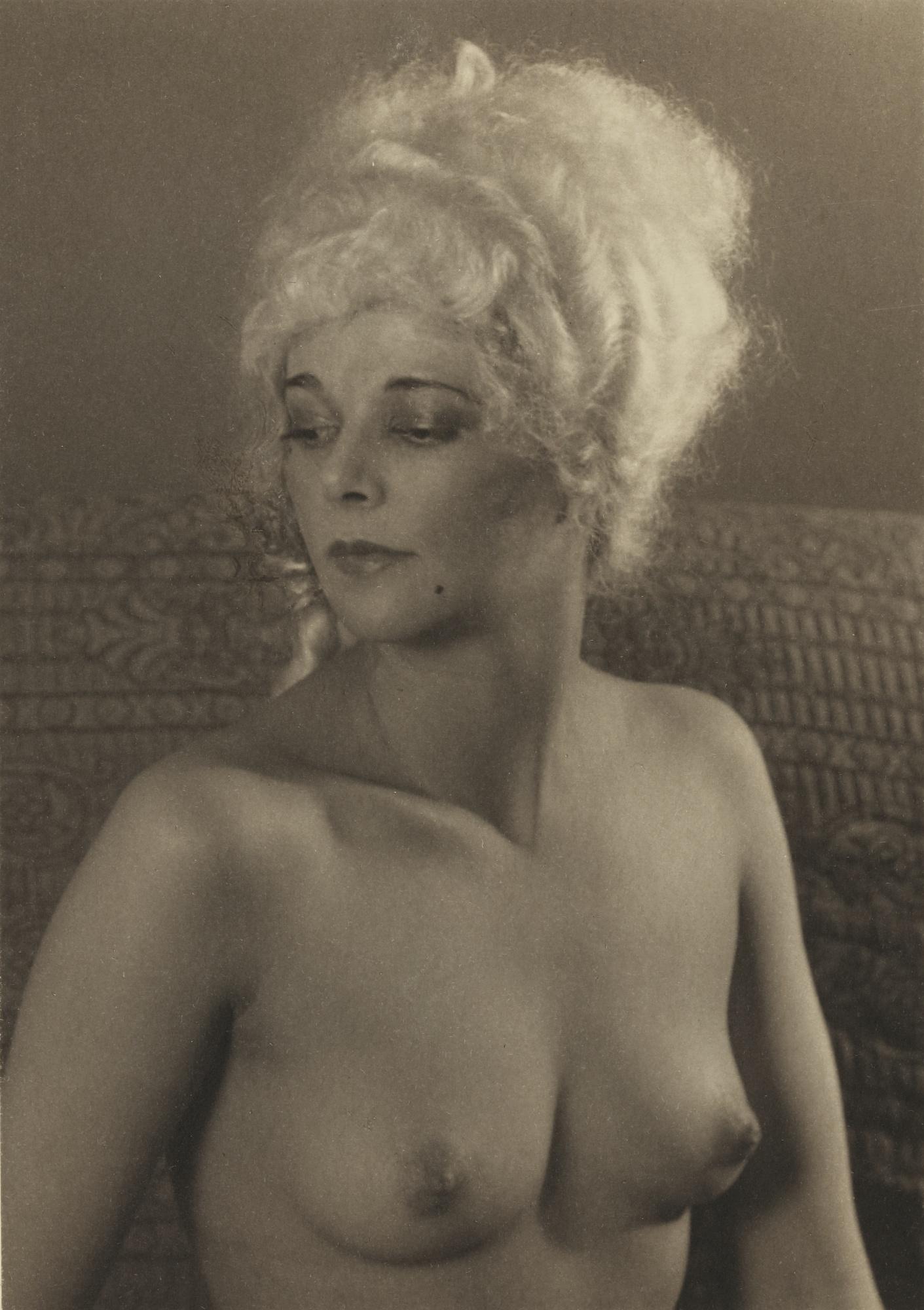 Paul Outerbridge-Paula In Wig-1924