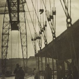 Laszlo Moholy-Nagy-Pont Transbordeur Im Regen, Marseille (The Transporter Bridge Under The Rain, Marseille)-1929