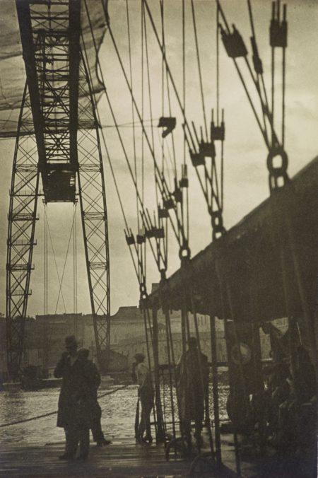 Laszlo Moholy-Nagy-Pont Transbordeur Im Regen, Marseille (The Transporter Bridge Under The Rain, Marseille)-1929