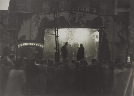 Robert Frank-Paris, Boulevard De Clichy (Theatre De Rue)-1949