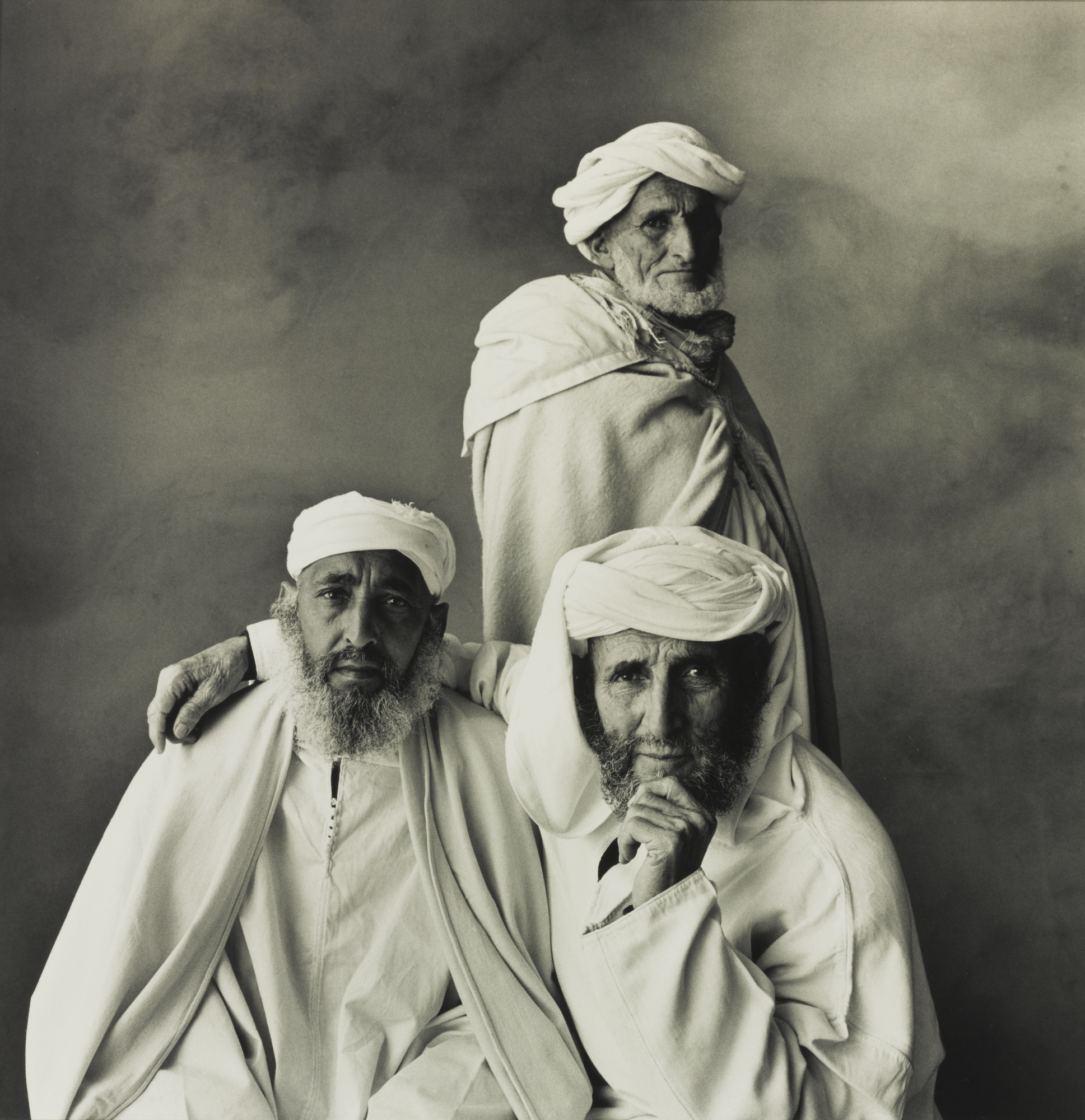 Irving Penn-Three Village Elders, Khenifra, Morocco (Three Arabs, Morocco)-1971