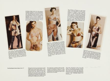 Robert Heinecken-The Hite/Hustler Fashion Beaver Hunt (#1 And #2)-1982