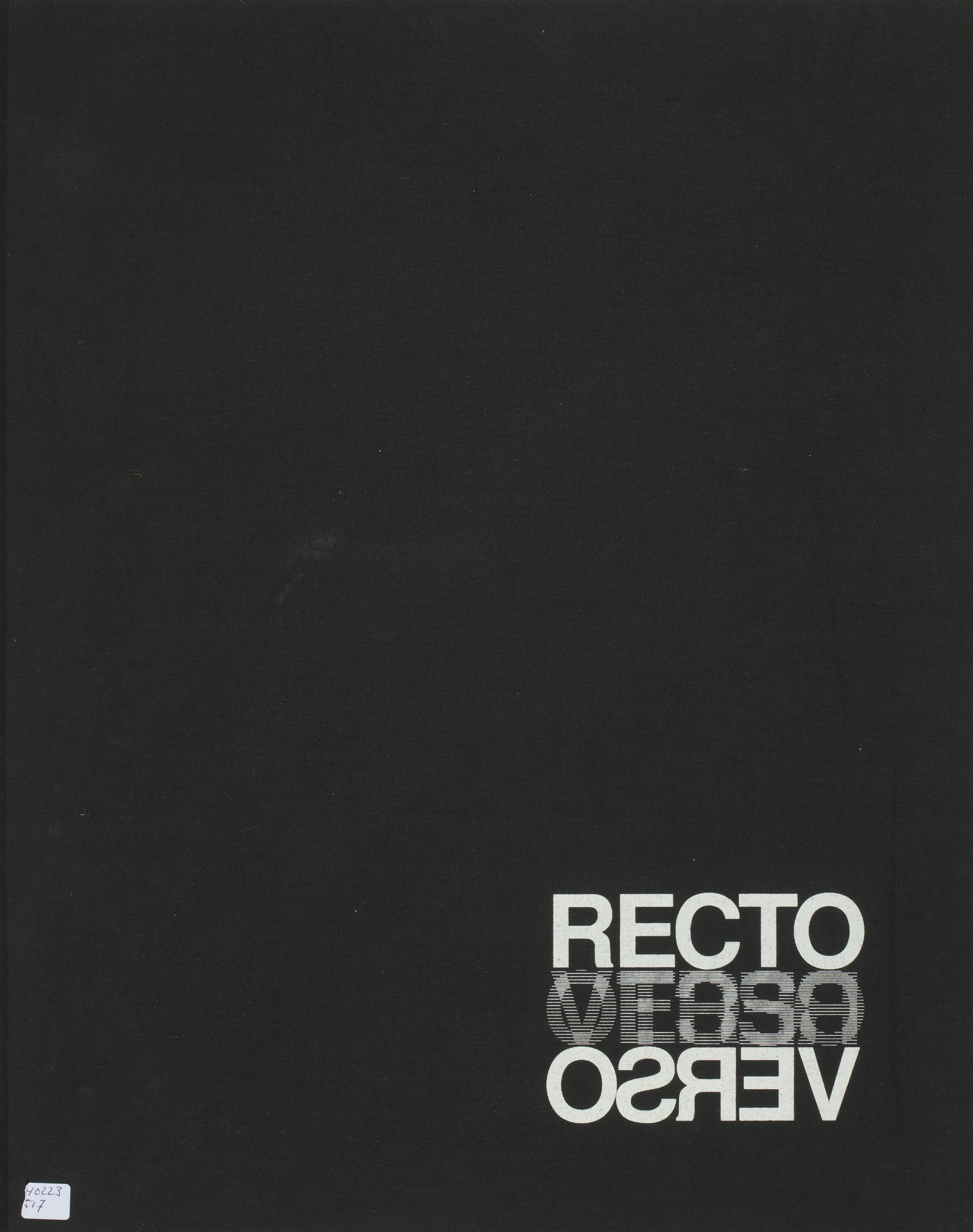 Robert Heinecken-Recto/Verso; Are You Rea-1988