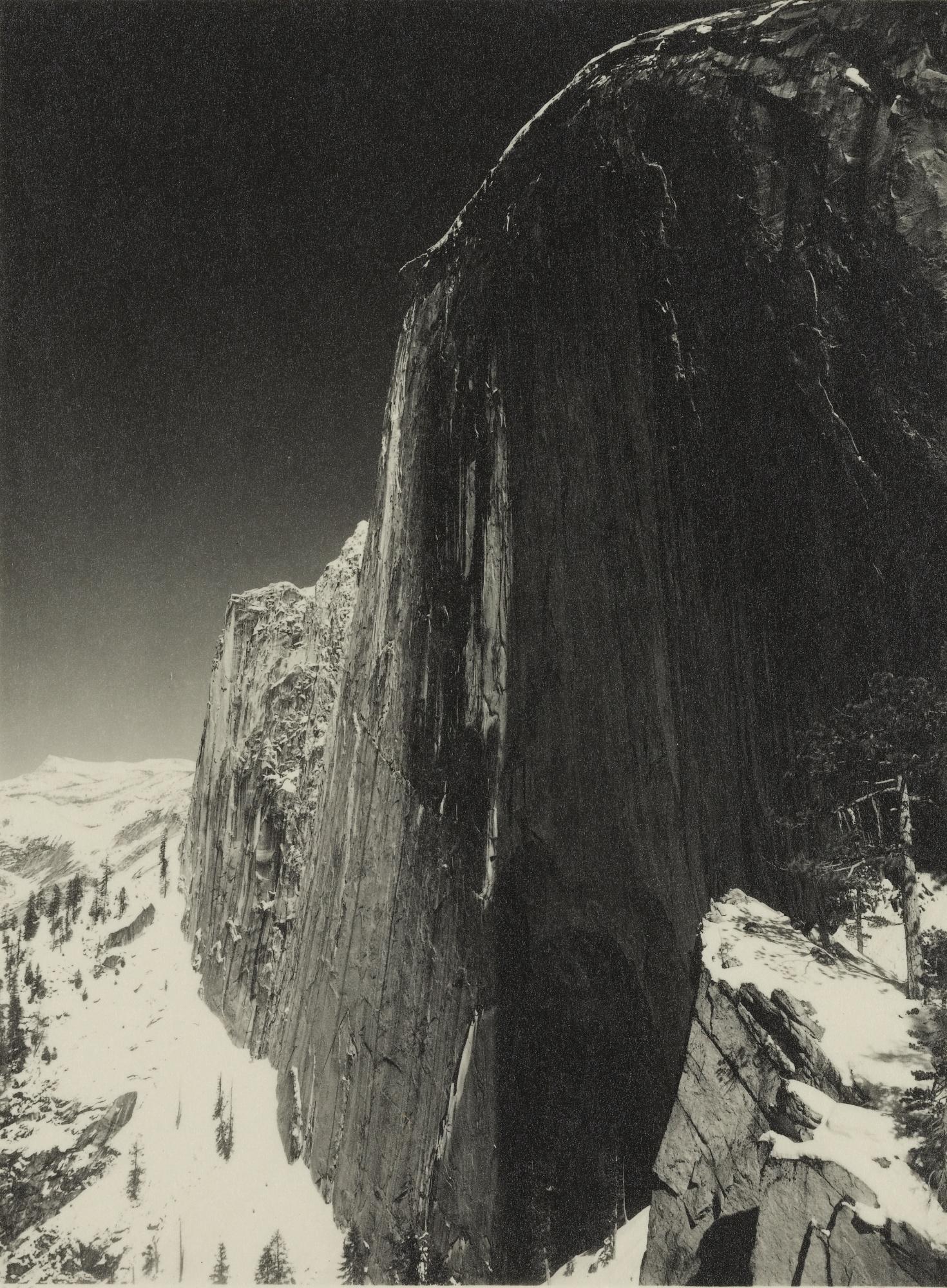 Ansel Adams-Monolith, Face Of Half Dome-1927