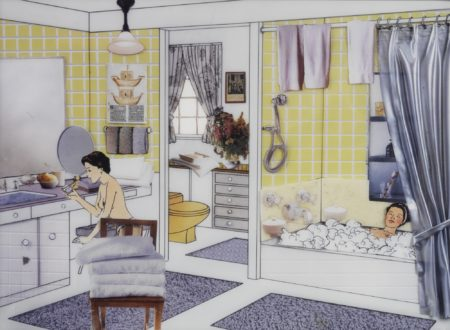 Laurie Simmons-The Instant Decorator (Yellow Bathroom)-2001