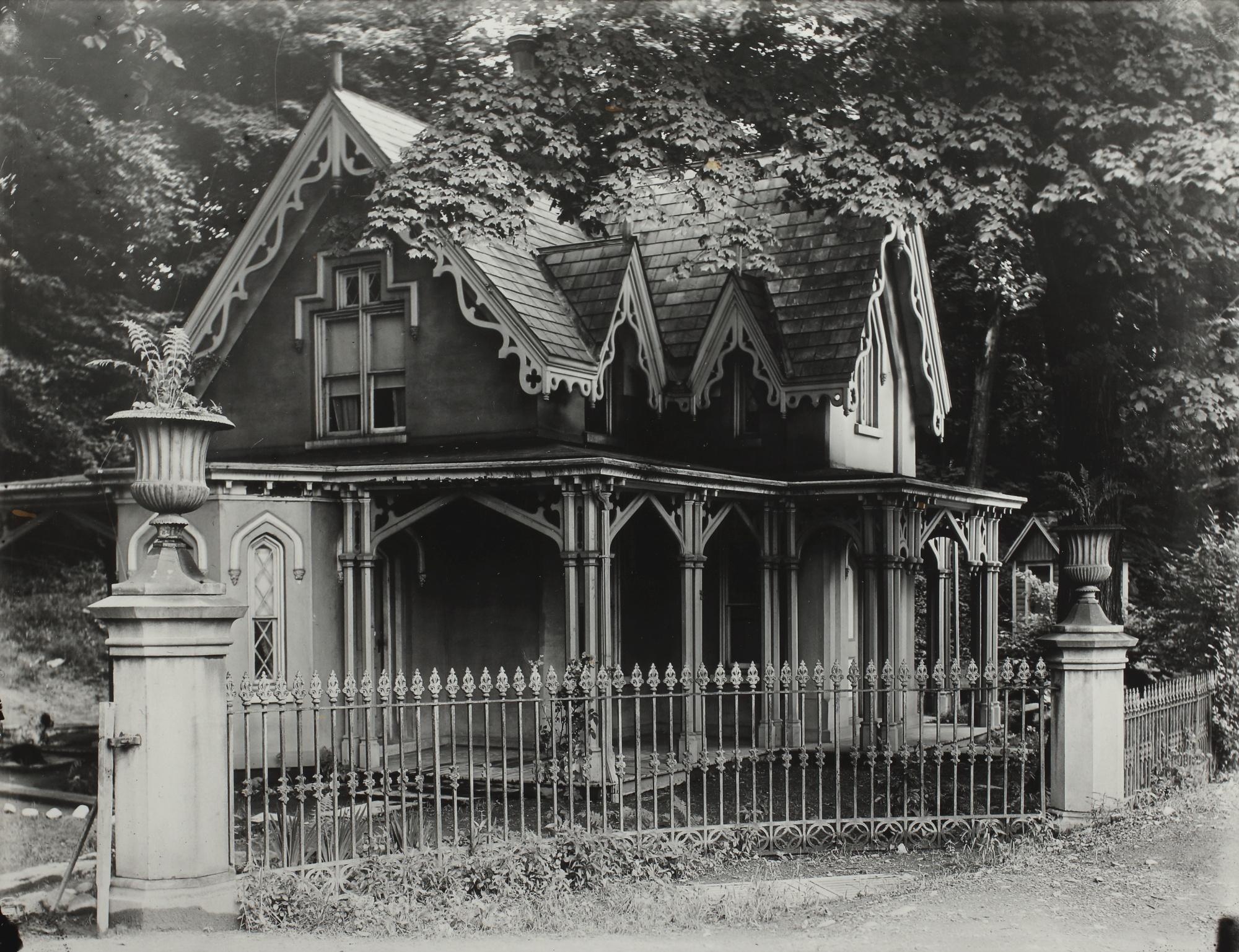 Walker Evans-Gothic Gate Cottage, Poughkeepsie, New York-1931
