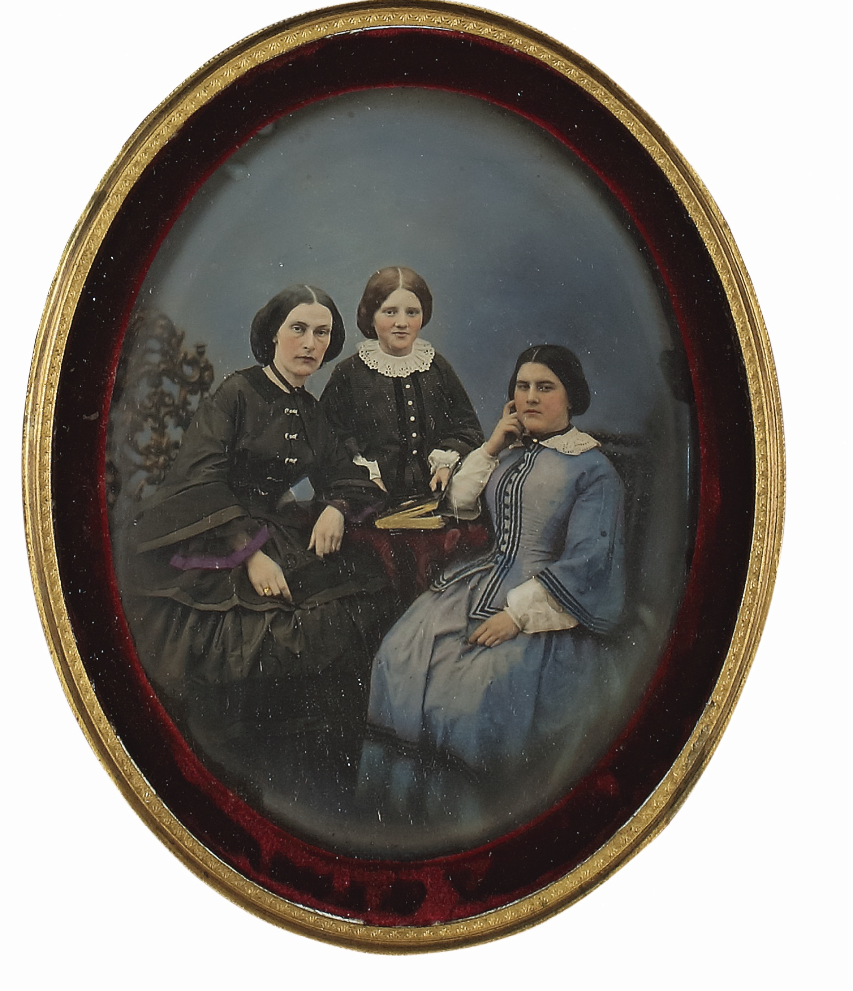 Anonymous Photographer - A Group Of Distinguished Women-1850