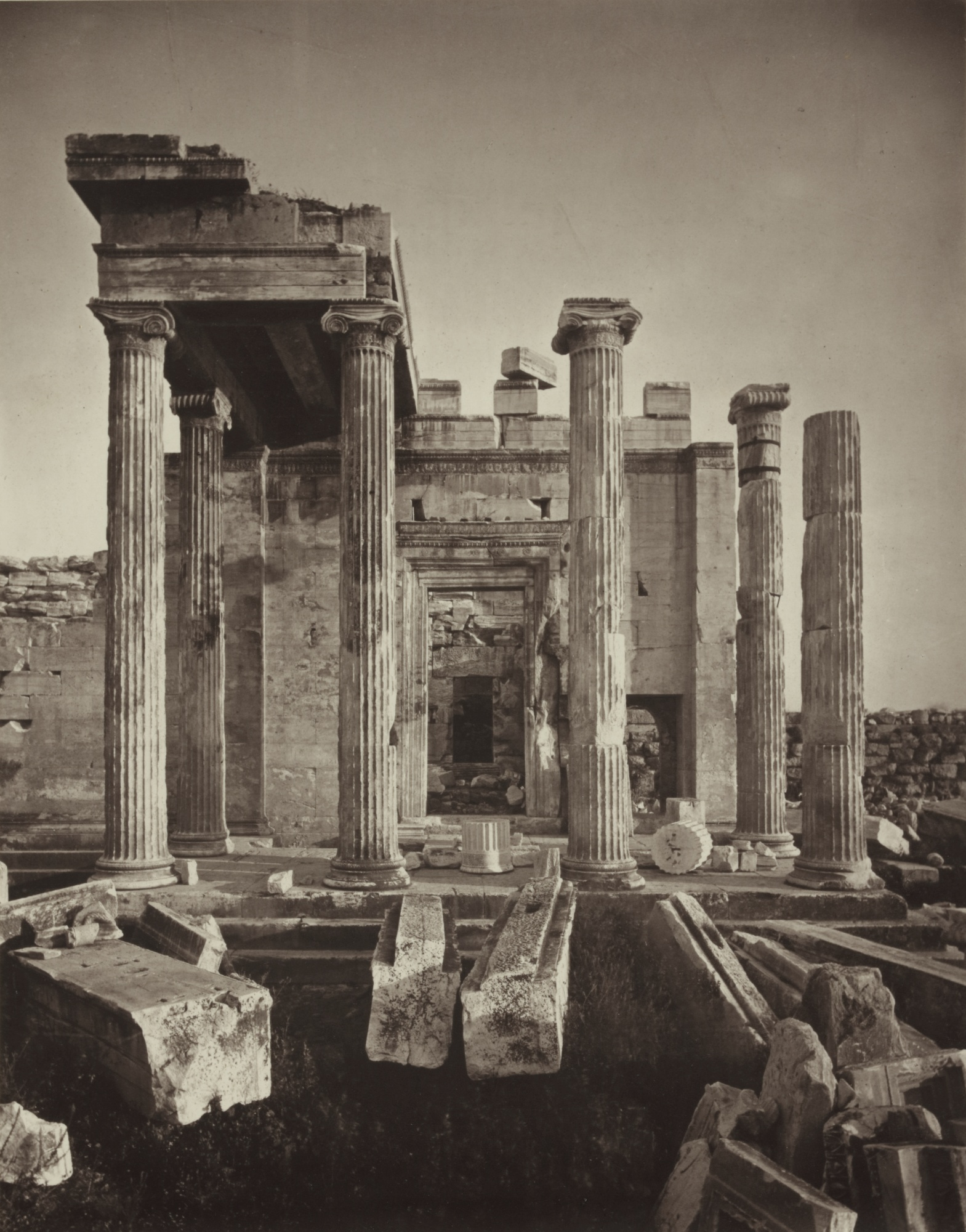 William James Stillman-The Acropolis Of Athens, Illustrated Picturesquely And Architecturally In Photography-1870