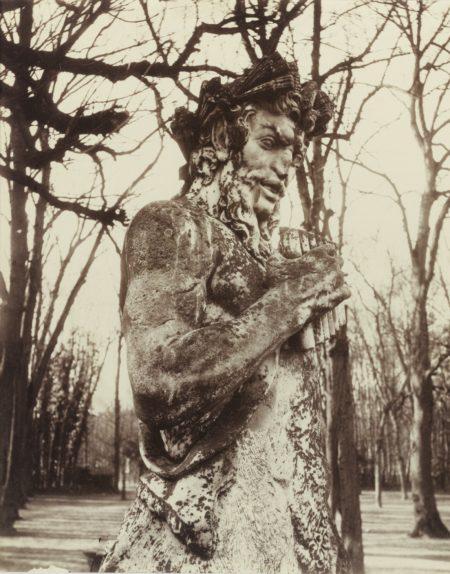 Eugene Atget-Versailles (Faune)-1901