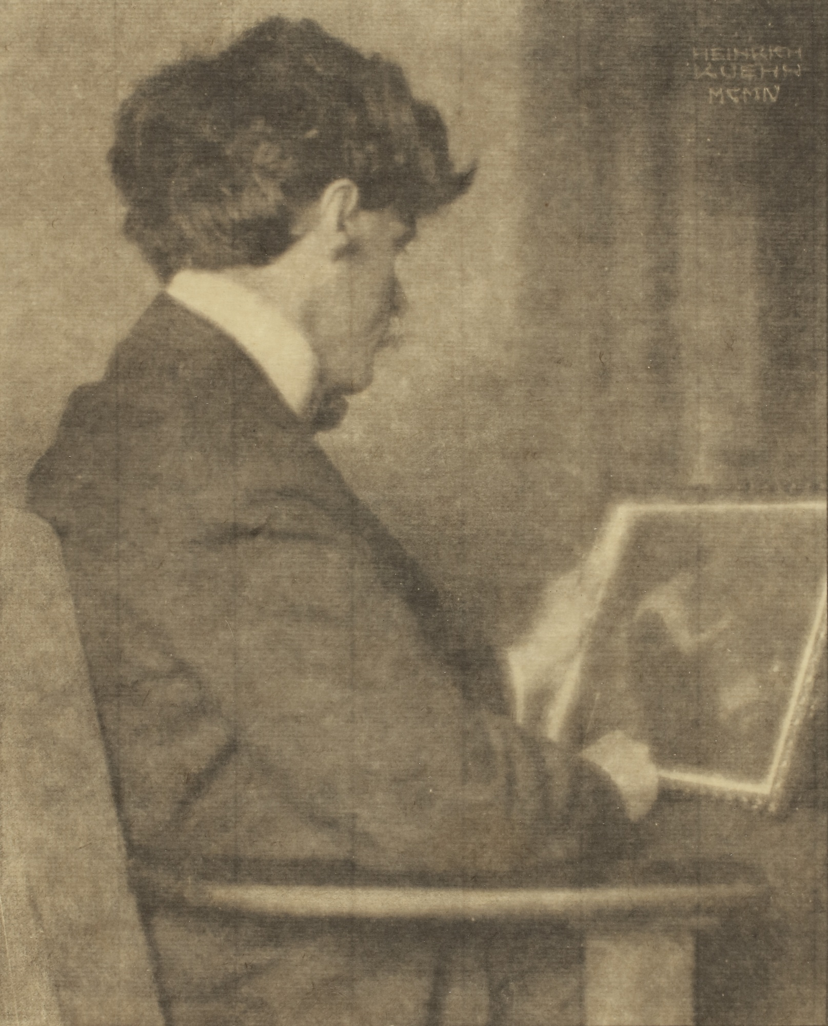 Heinrich Kuhn-Alfred Stieglitz-1904