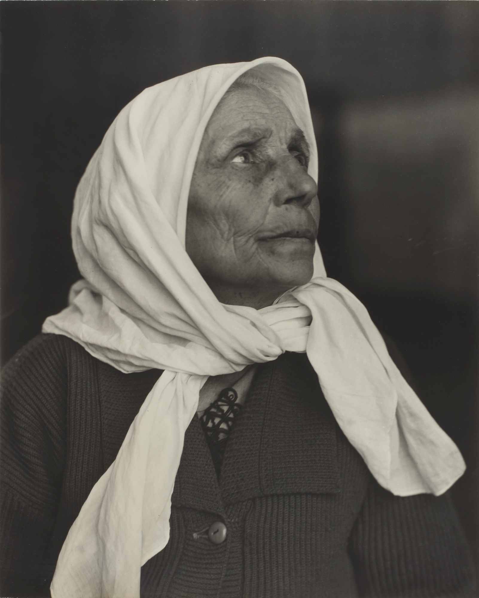 Lewis Wickes Hine-Syrian Grandmother, Ellis Island-1926