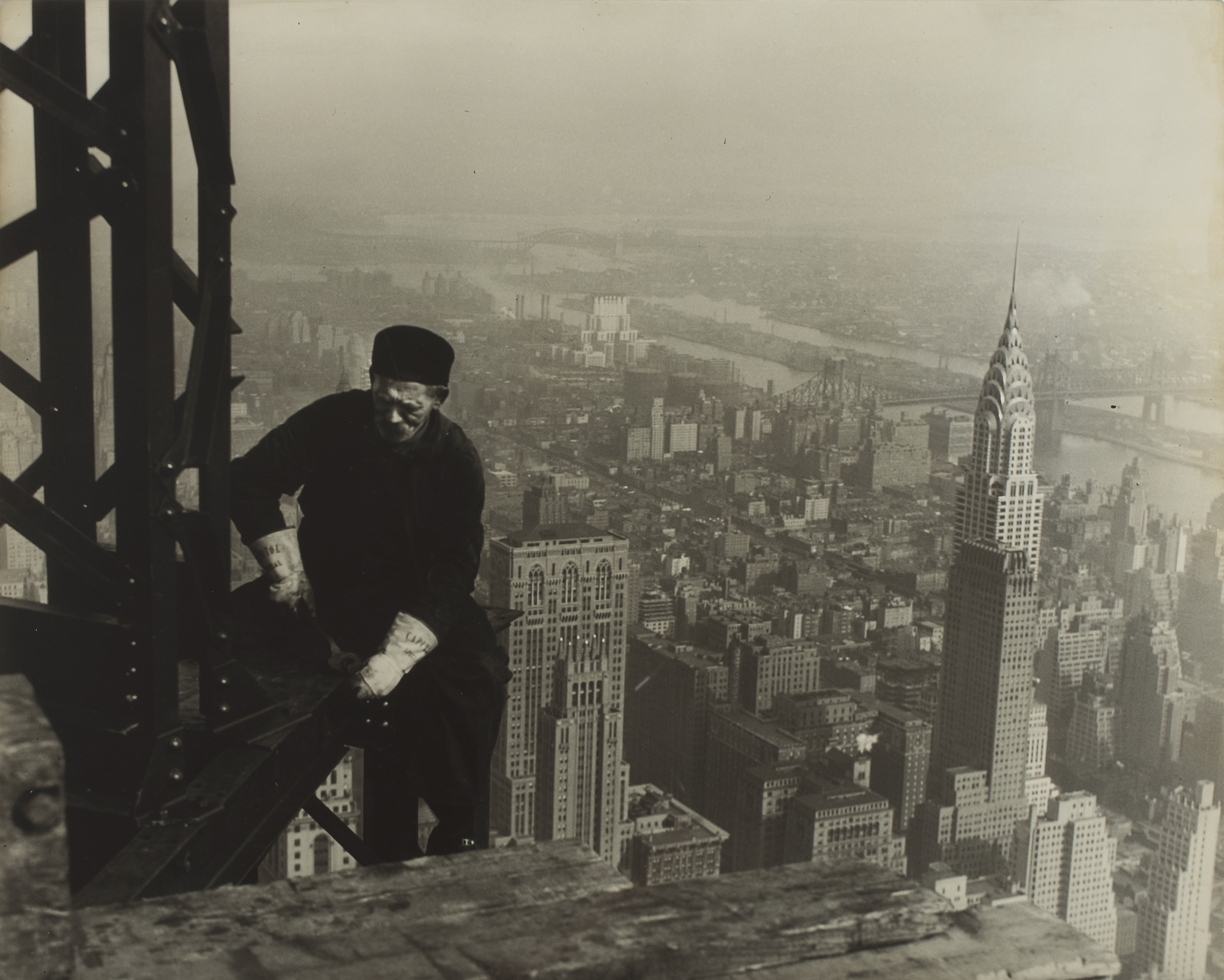 Lewis Wickes Hine-Tightening The Bolts-1930