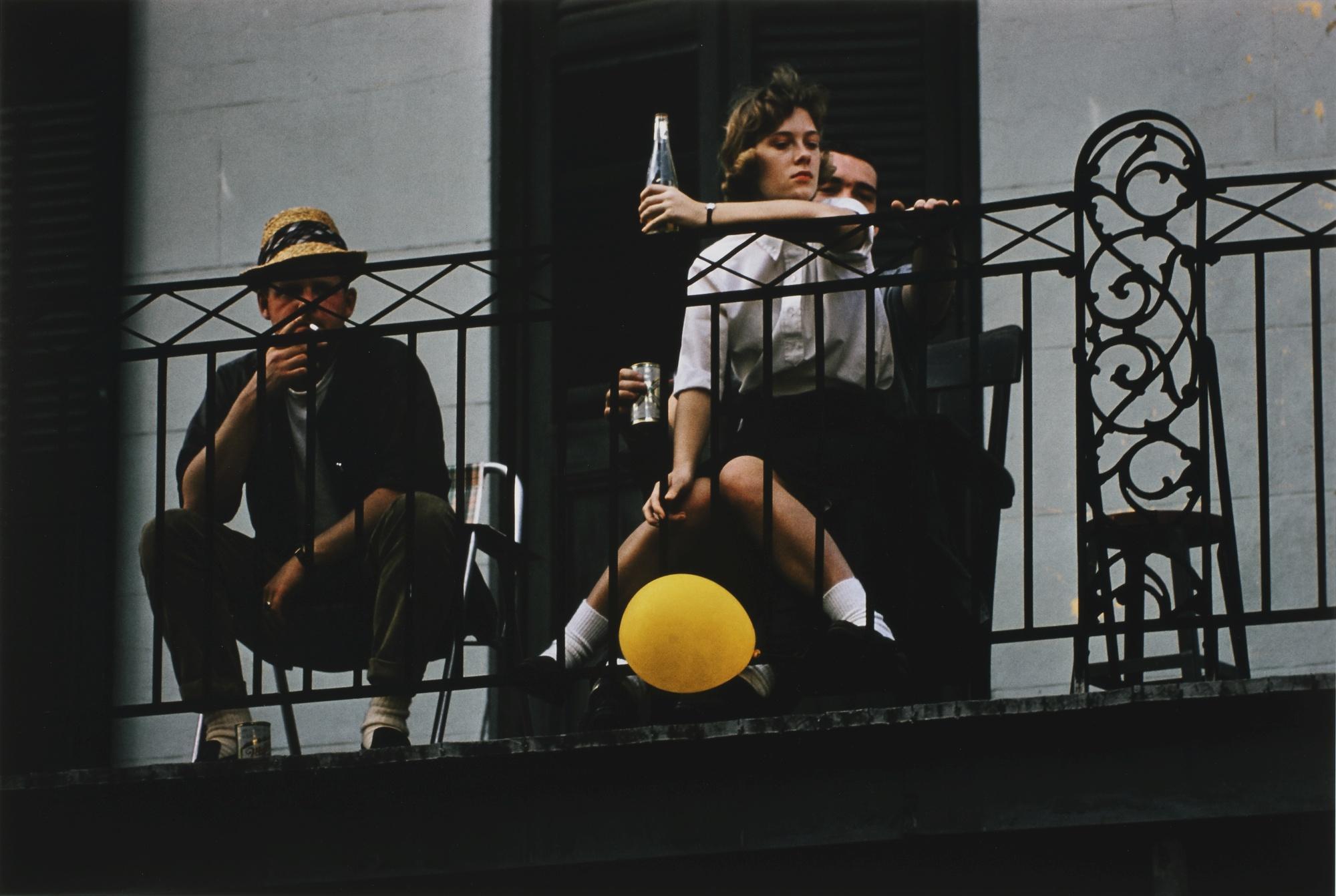 Ernst Haas-Yellow Balloon, New Orleans, Louisiana-1970