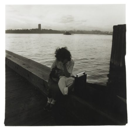 Diane Arbus-Couple On A Pier, Nyc-1963