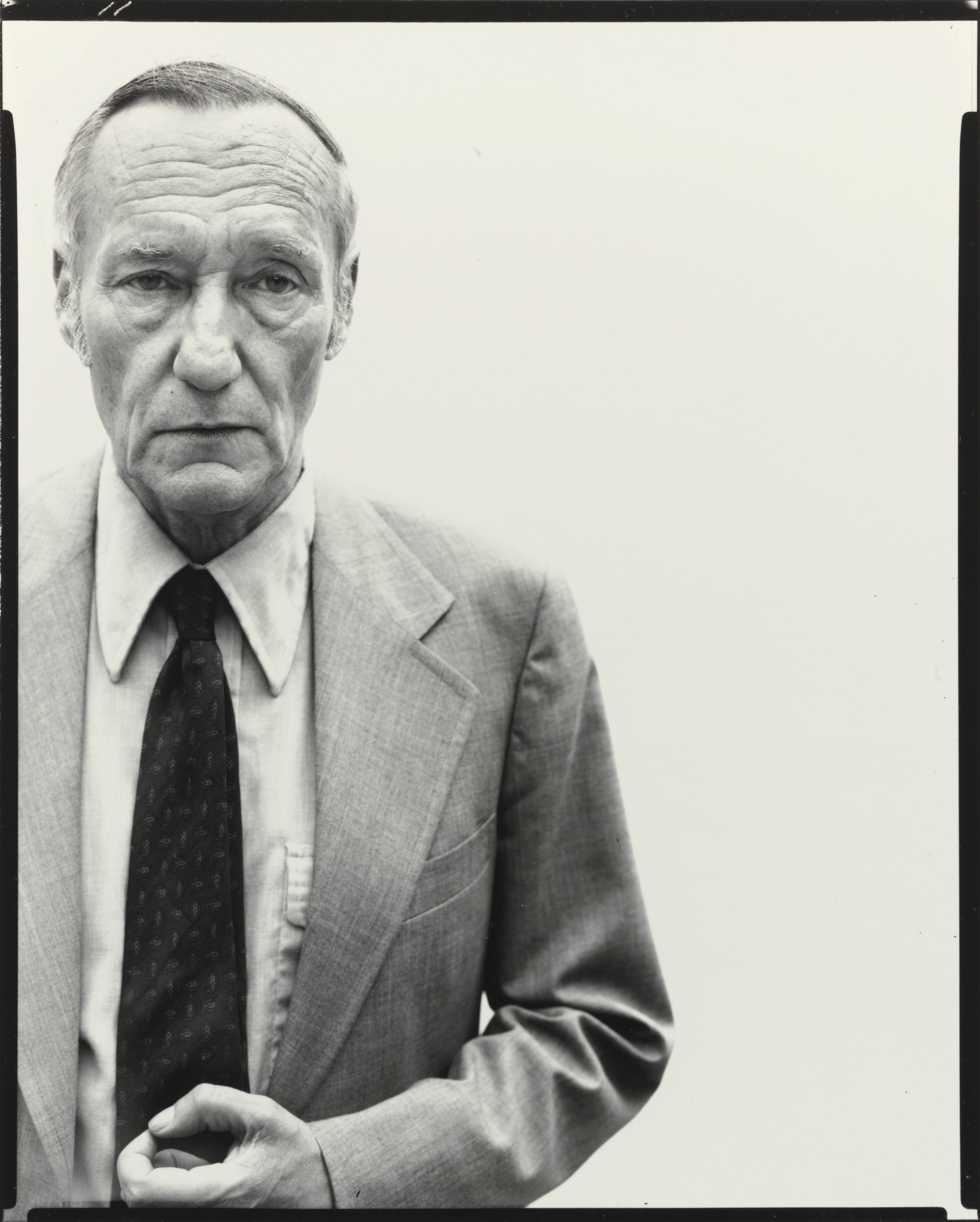 Richard Avedon-William Burroughs, Writer, New York City-1975