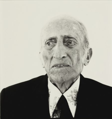 Richard Avedon-Jacob Israel Avedon, Father Of The Photographer, Sarasota-1973