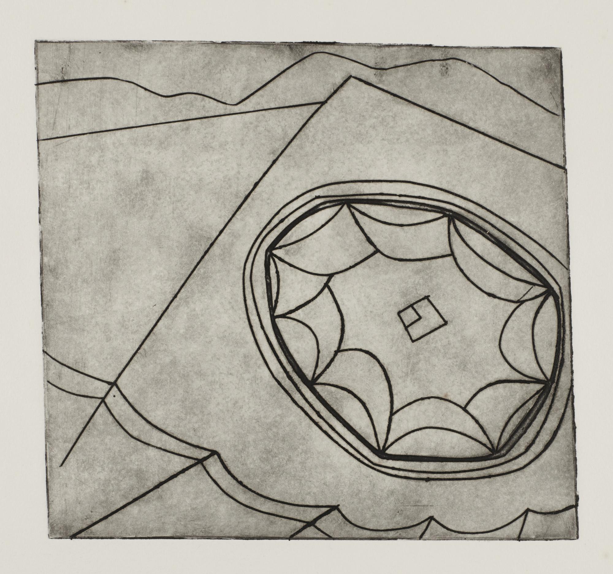 Ben Nicholson-Olympic Fragment 2 (L. 11)-1965
