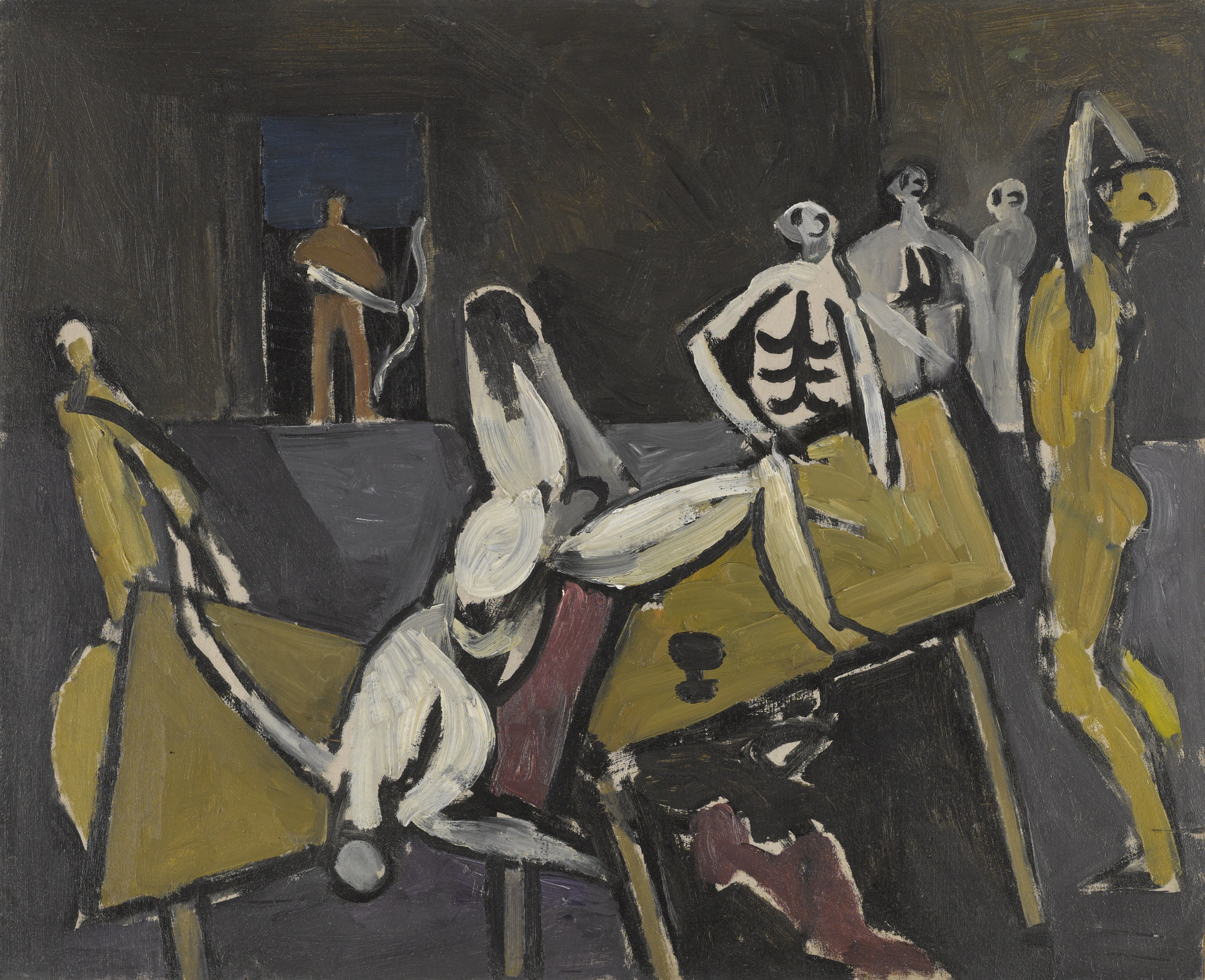Keith Vaughan-Study For The Return Of Odysseus-1951