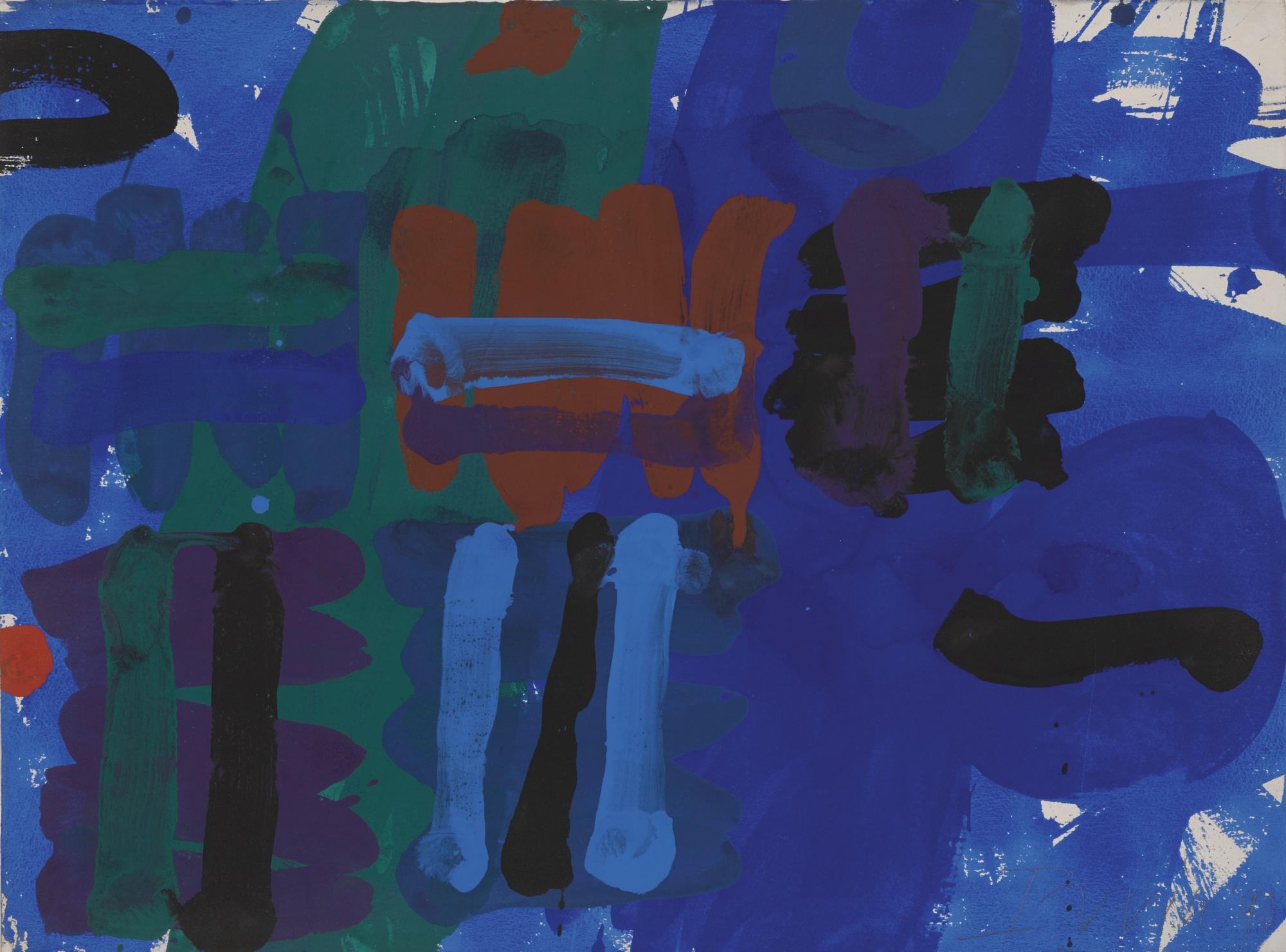 Albert Irvin-Untitled-1990