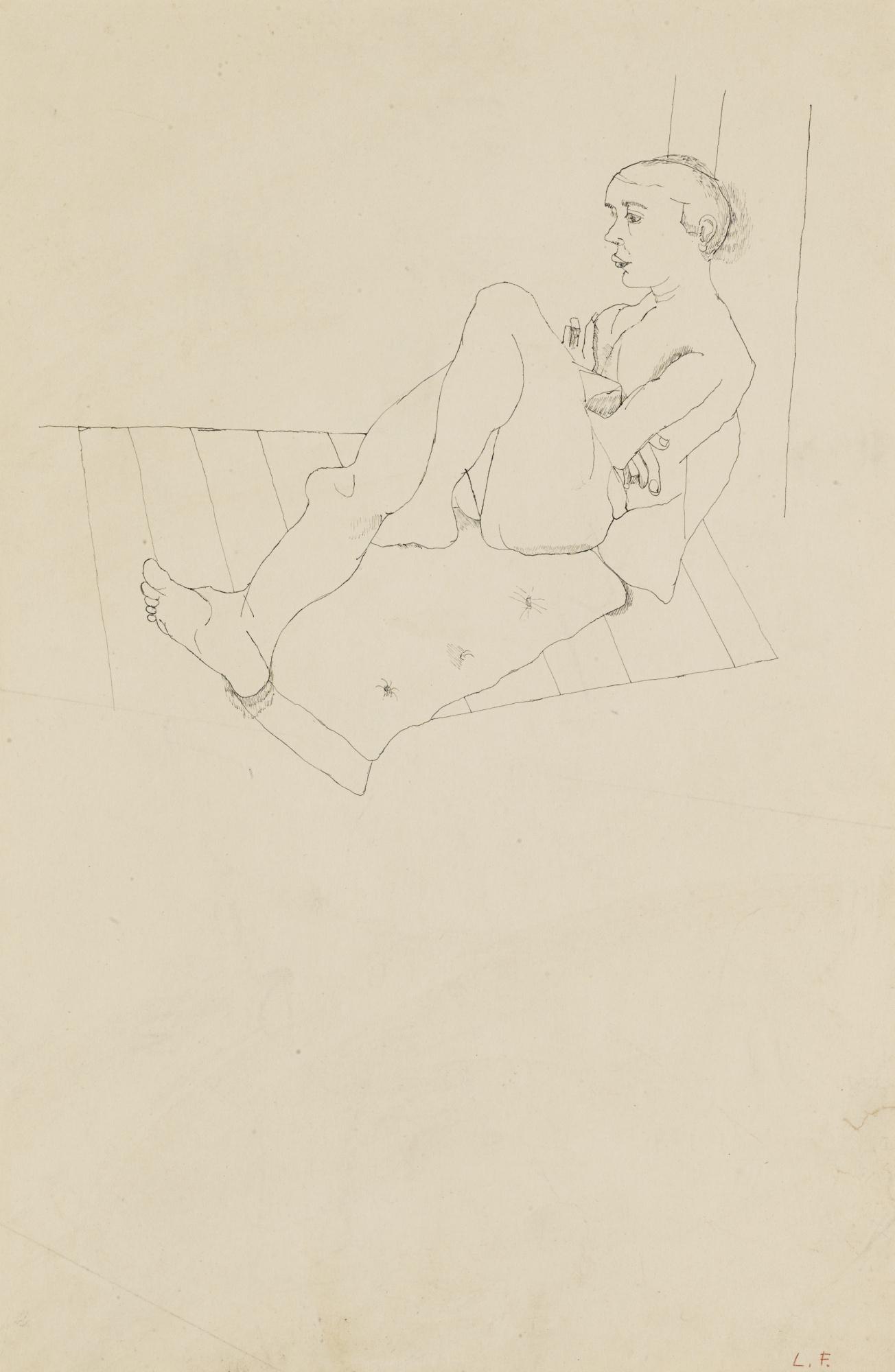 Lucian Freud-Model Resting-1941