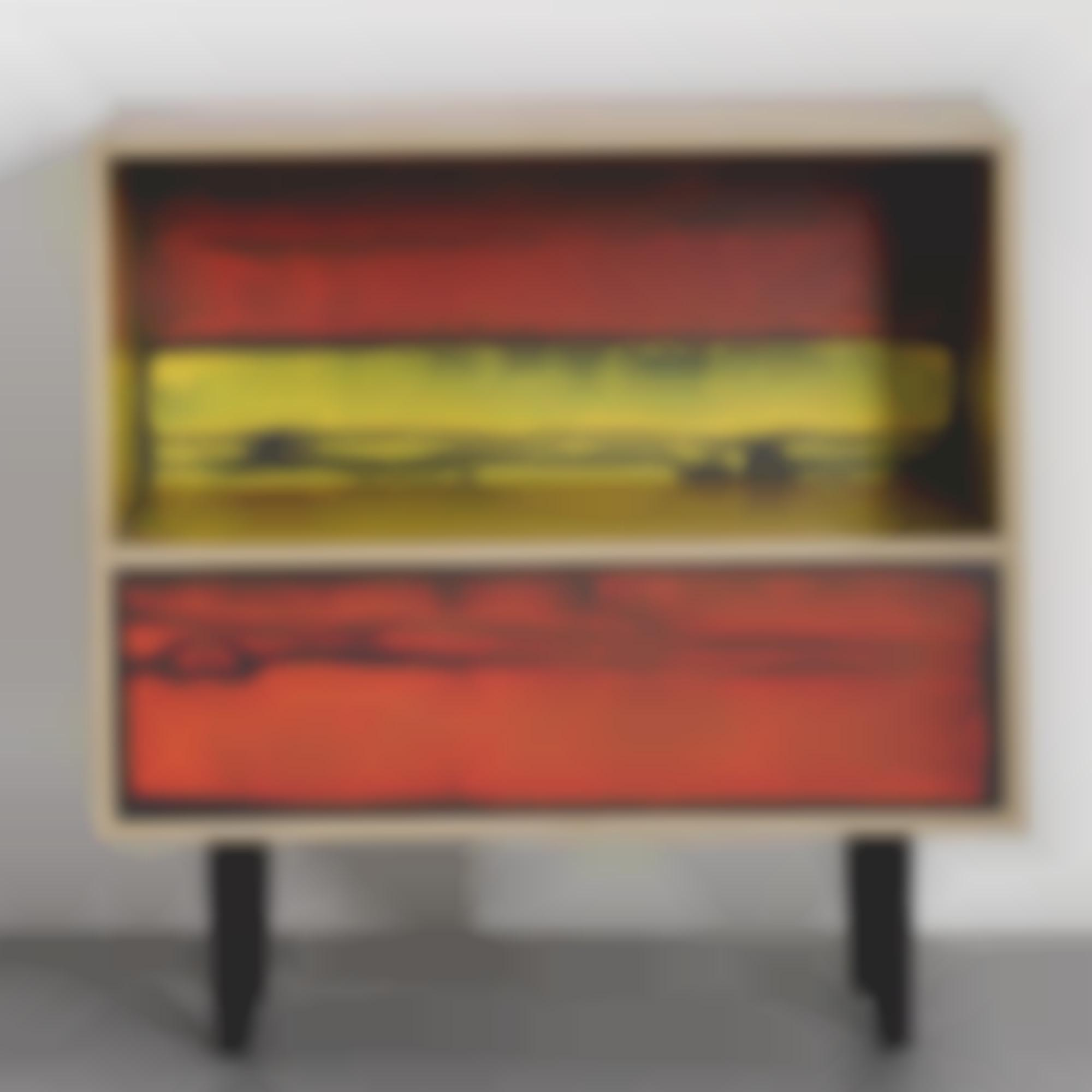 Richard Woods-Sebastian Wrong-Prototype Night Table, From The Wrongwoods Principal Collection-