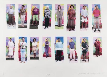 David Hockney-112 La Visitors, 1990-1991-