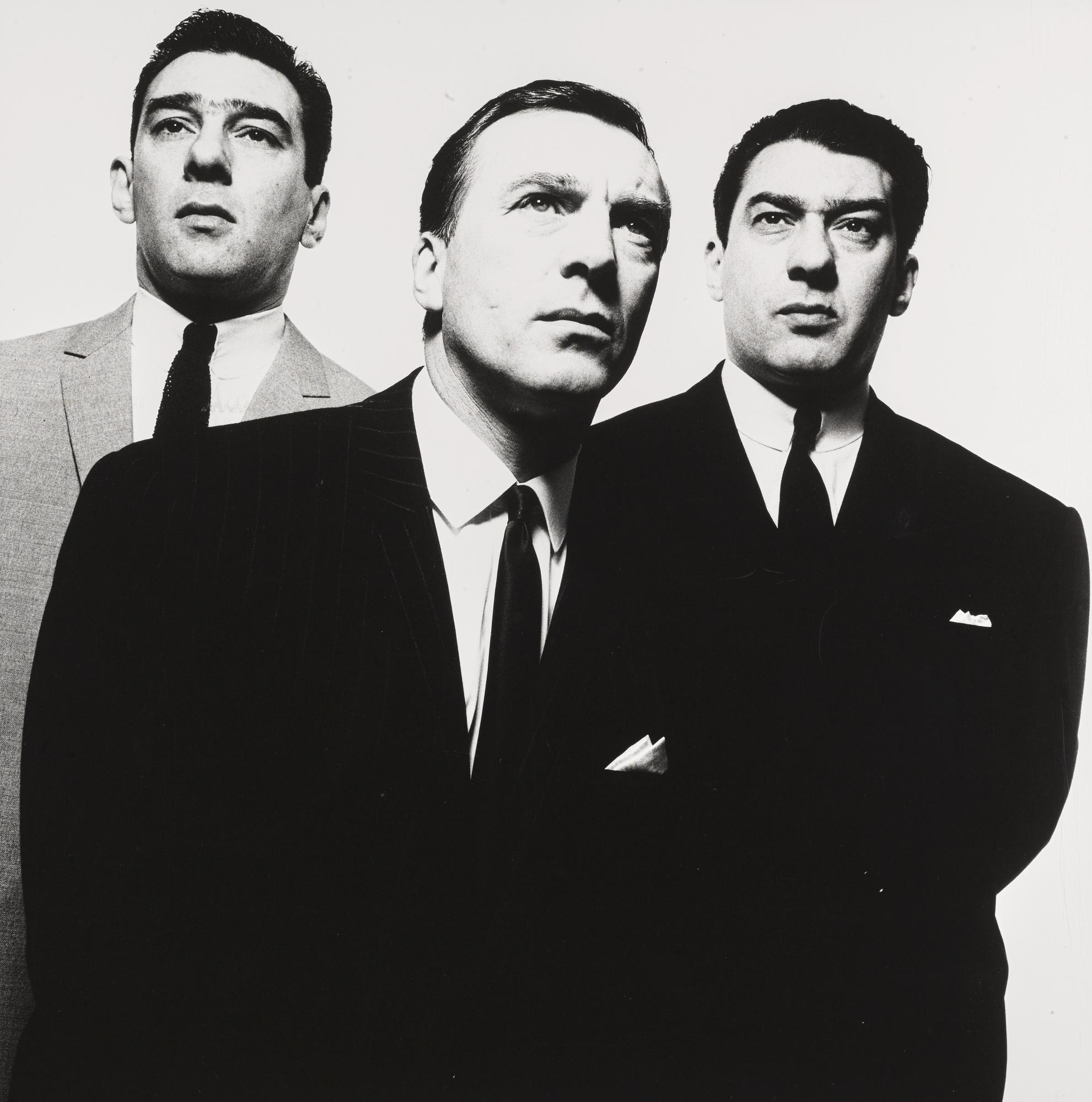 David Bailey-The Kray Brothers, 1965-