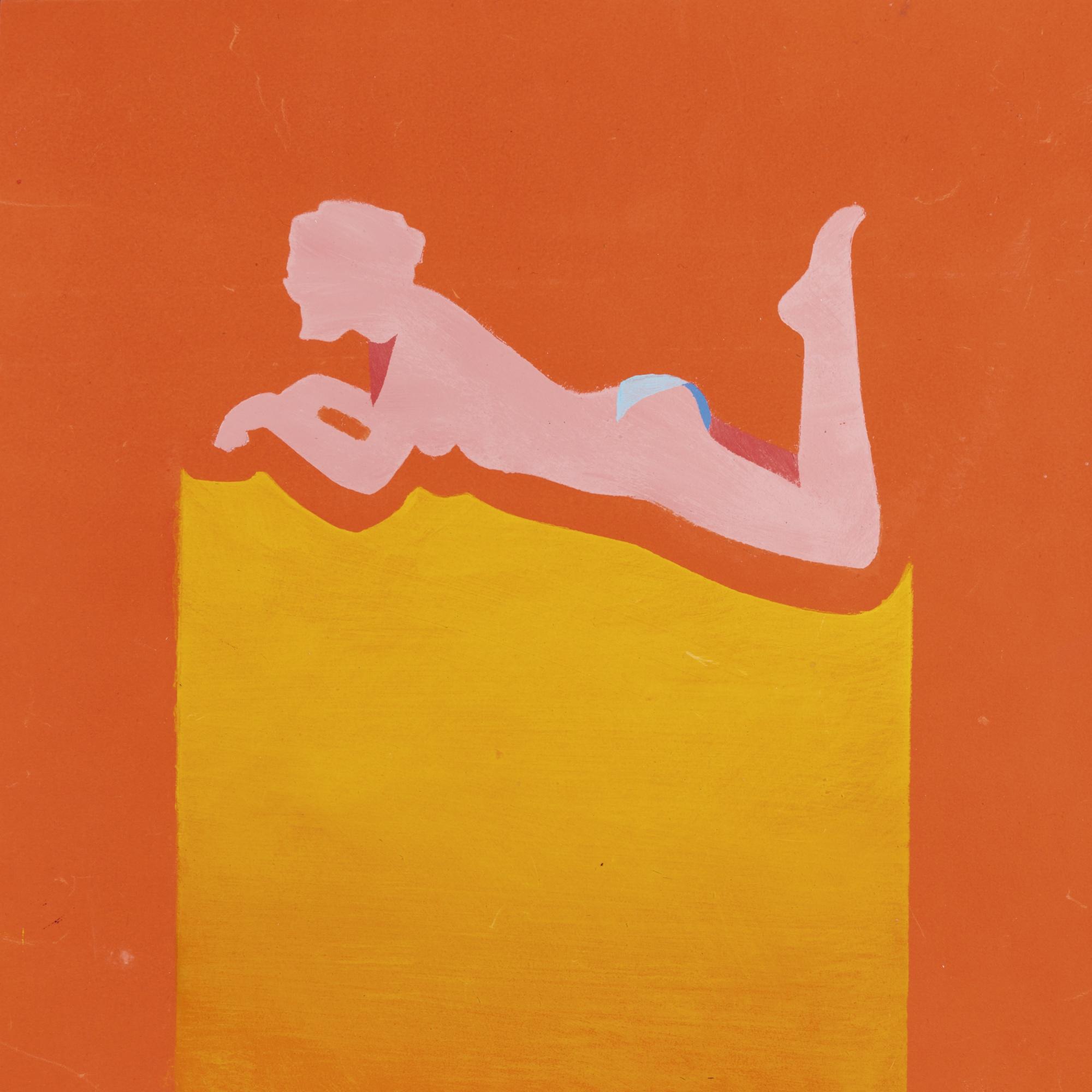 Antony Donaldson-For Orange Square-1966