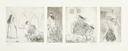 David Hockney-Study For Rumpelstiltskin (S.A.C. 11)-1961