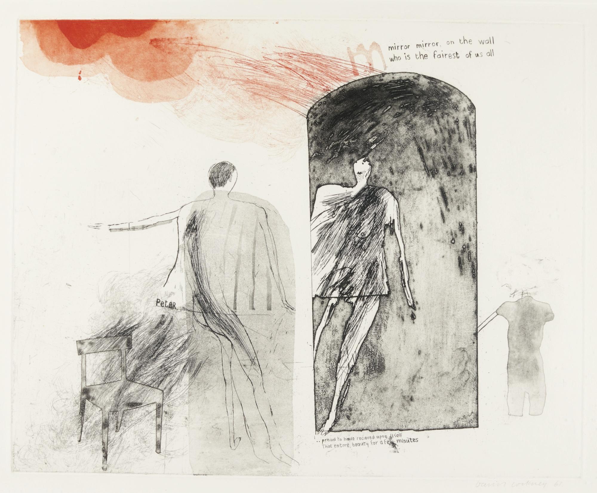 David Hockney-Mirror Mirror, On The Wall (S.A.C., Mca Tokyo 10)-1961