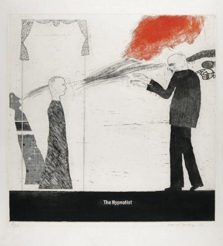 David Hockney-The Hypnotist (S.A.C. 16; Mca Tokyo 32)-1963