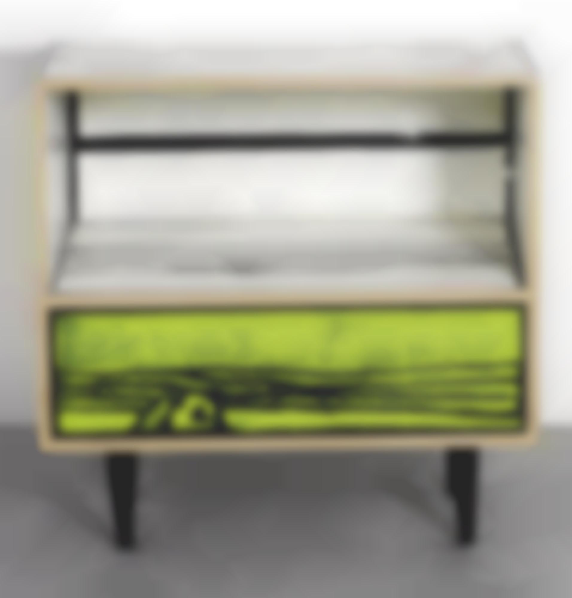 Richard Woods-Sebastian Wrong-Prototype Night Table, From The Wrongwoods Principal Collection-2007