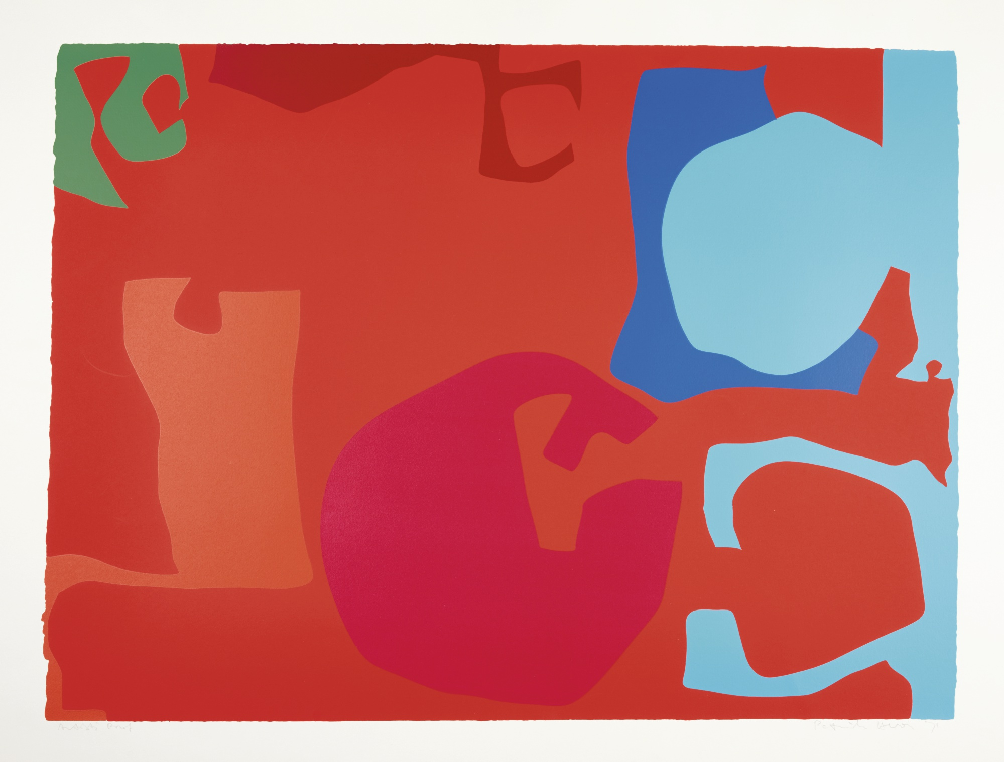 Patrick Heron-Untitled-1971