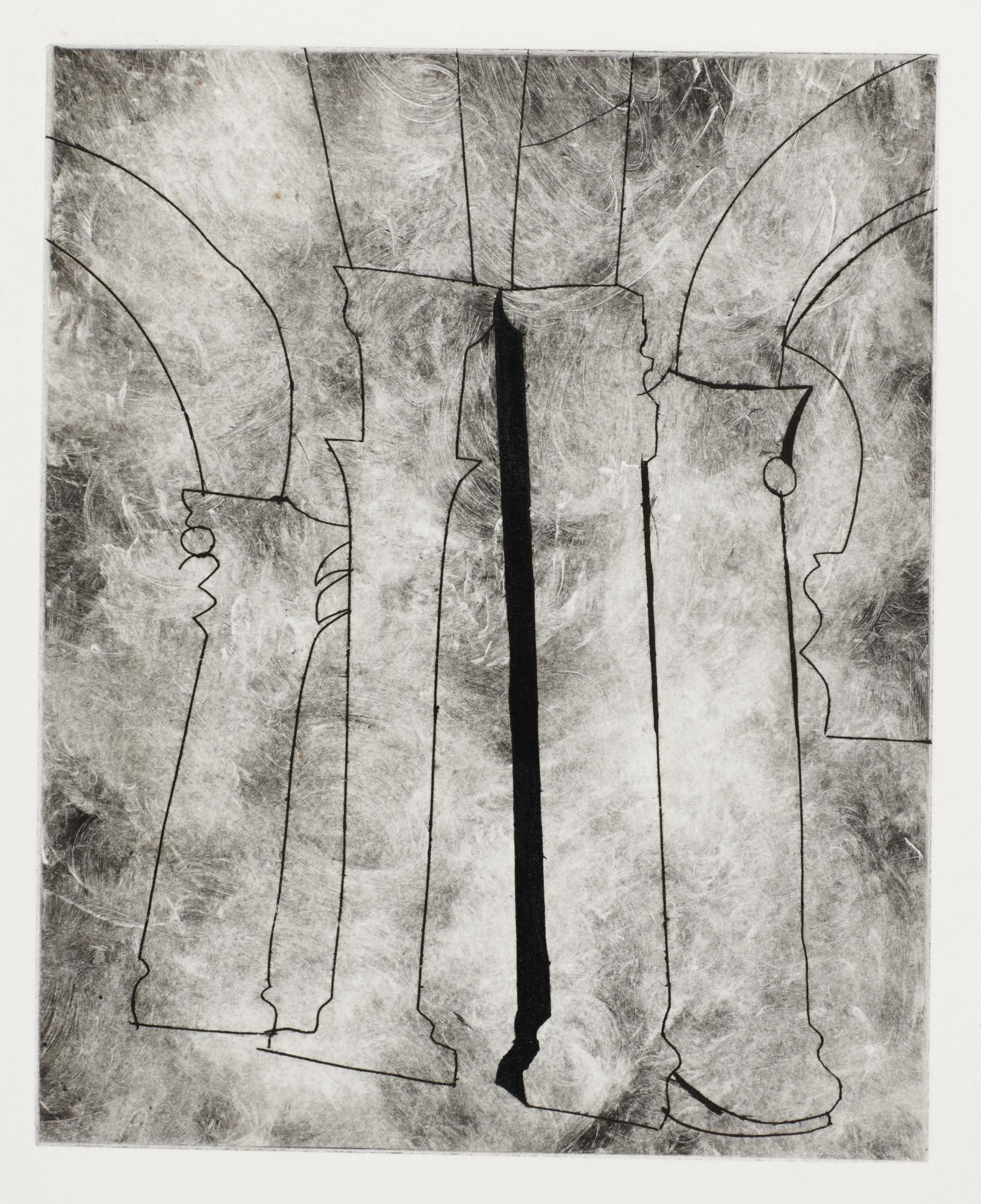 Ben Nicholson-Urbino 3 (L. 6B)-1965