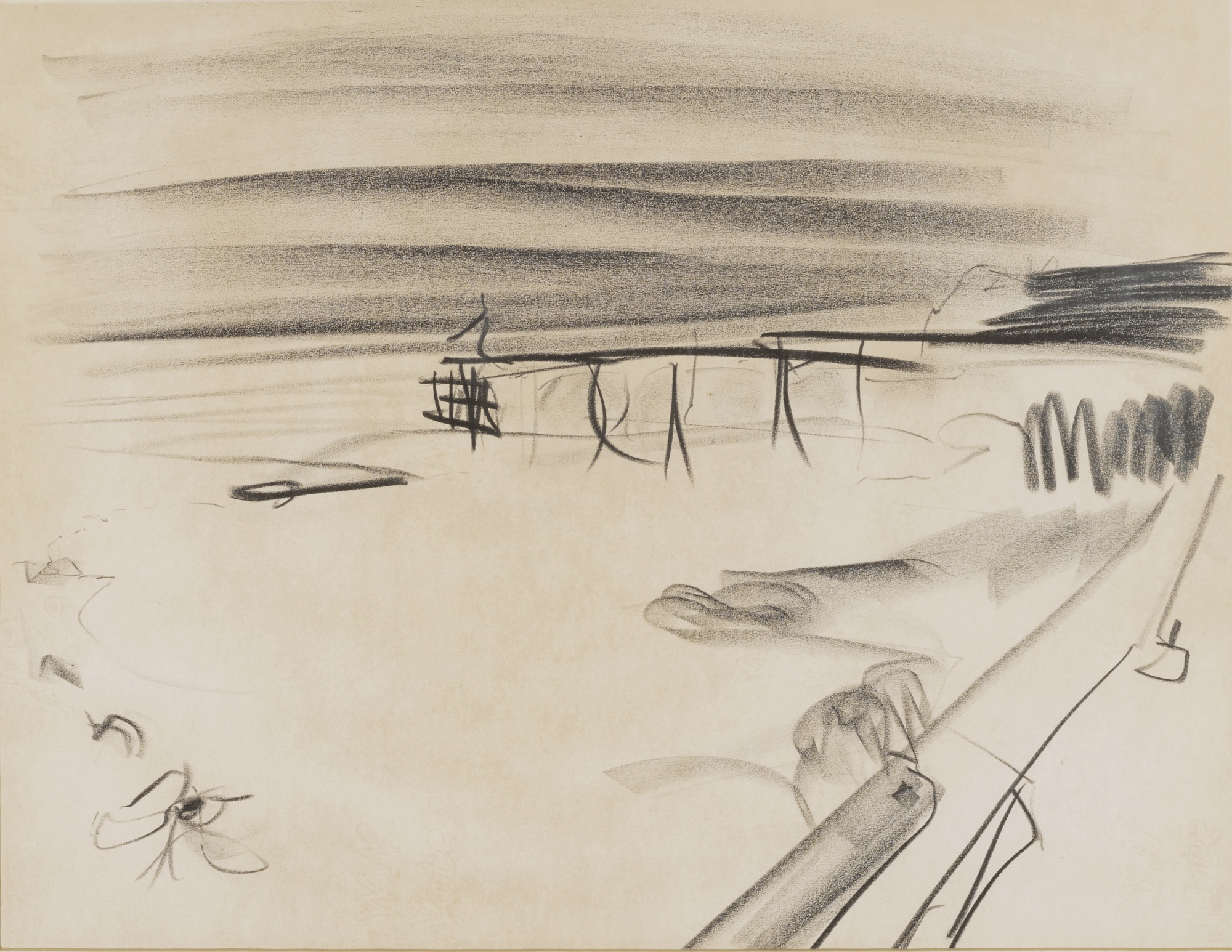 Peter Lanyon-Clevedon Sketch V-1964