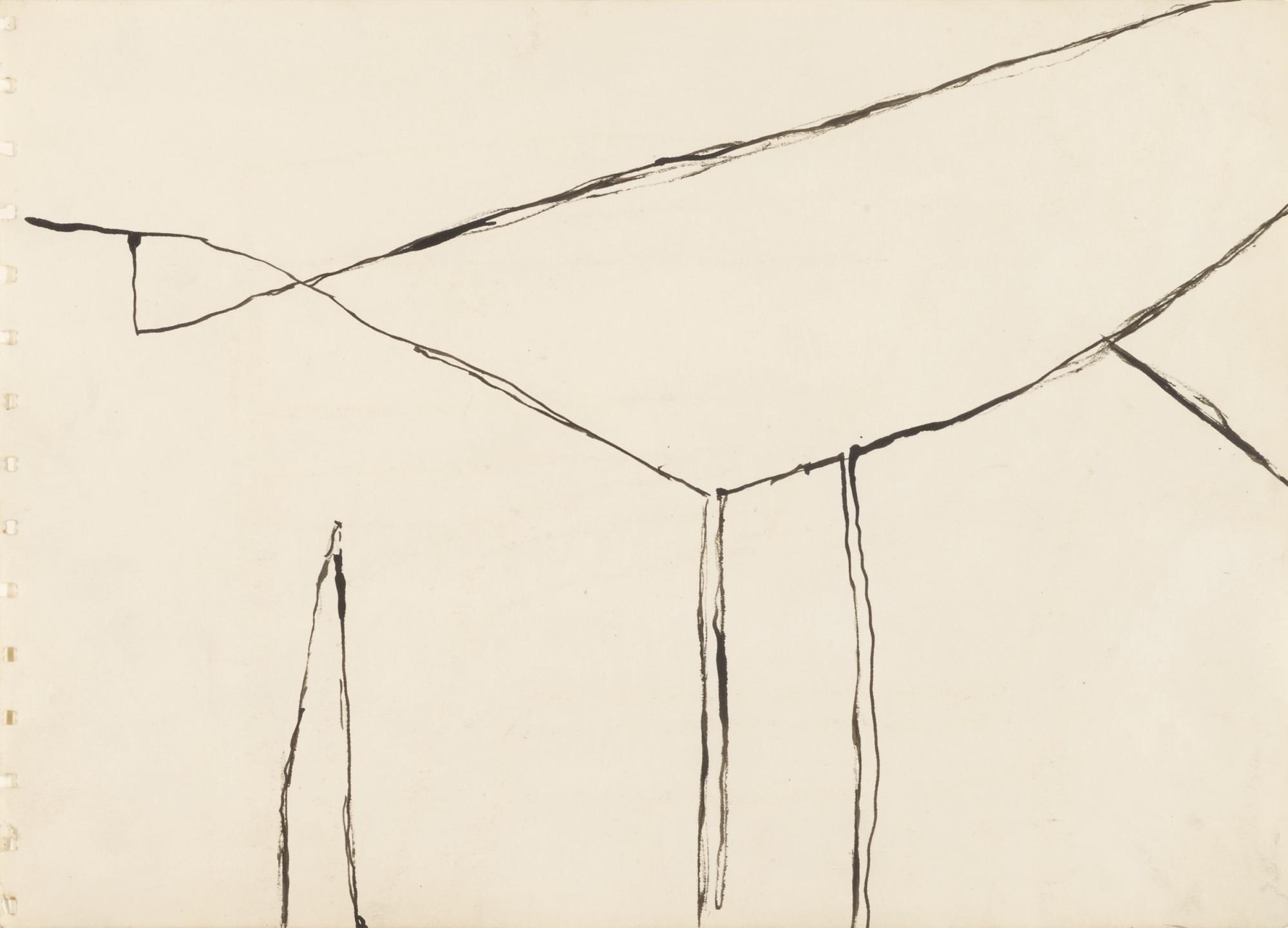 William Scott-Untitled (Figure Into Landscape)-1960