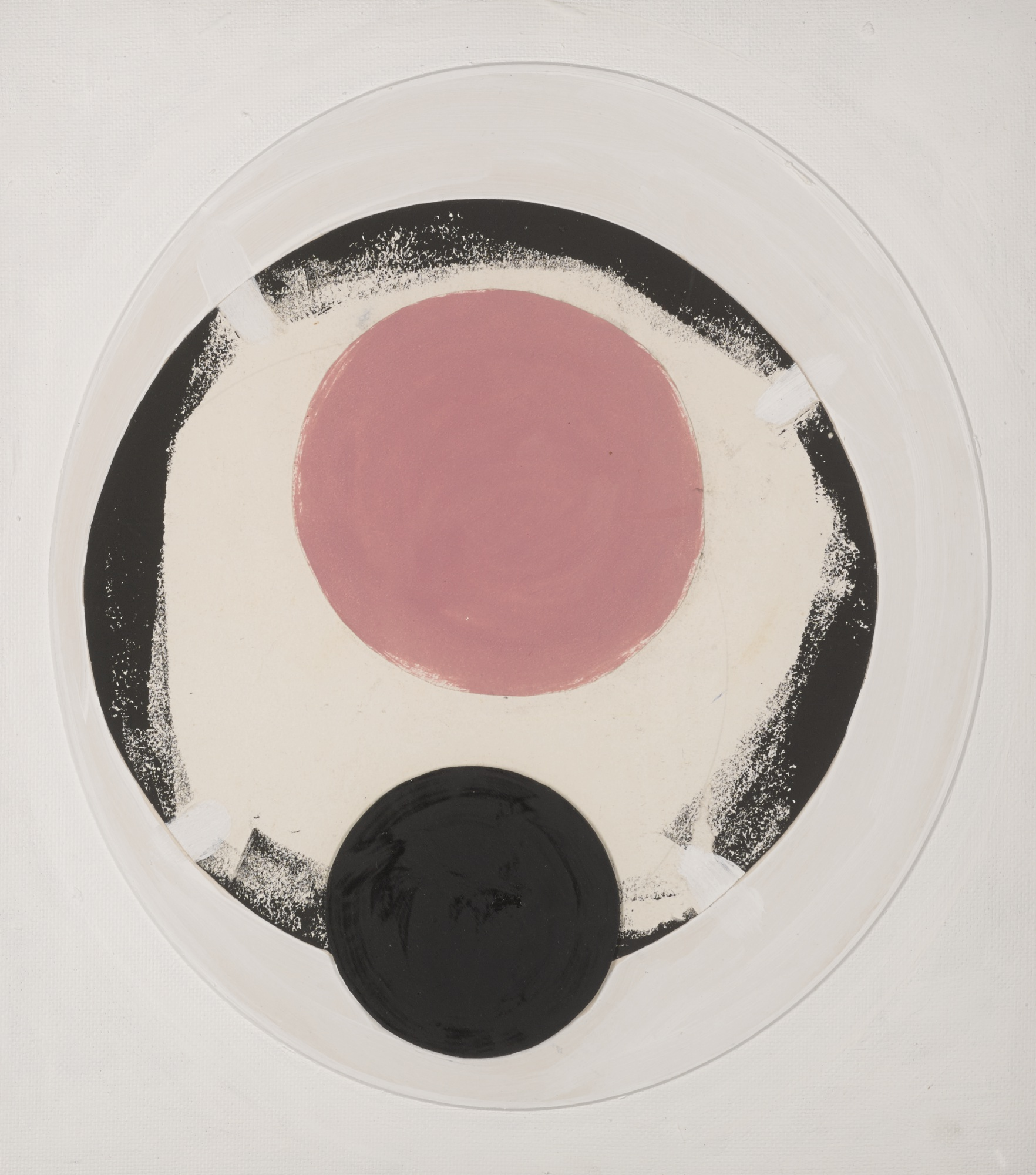 Terry Frost-Pink And Black Space-1996