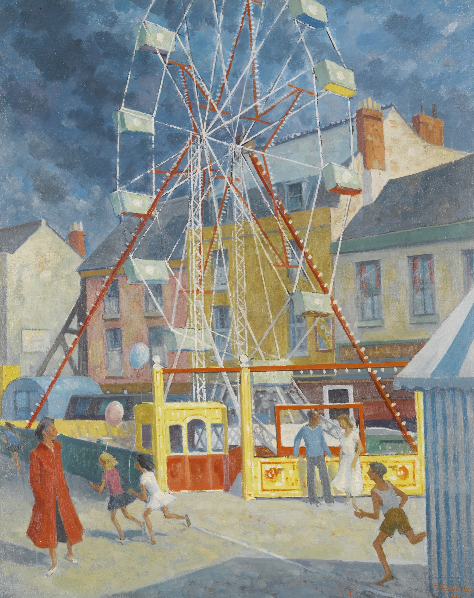 Frank Runacres-The Big Wheel-1956