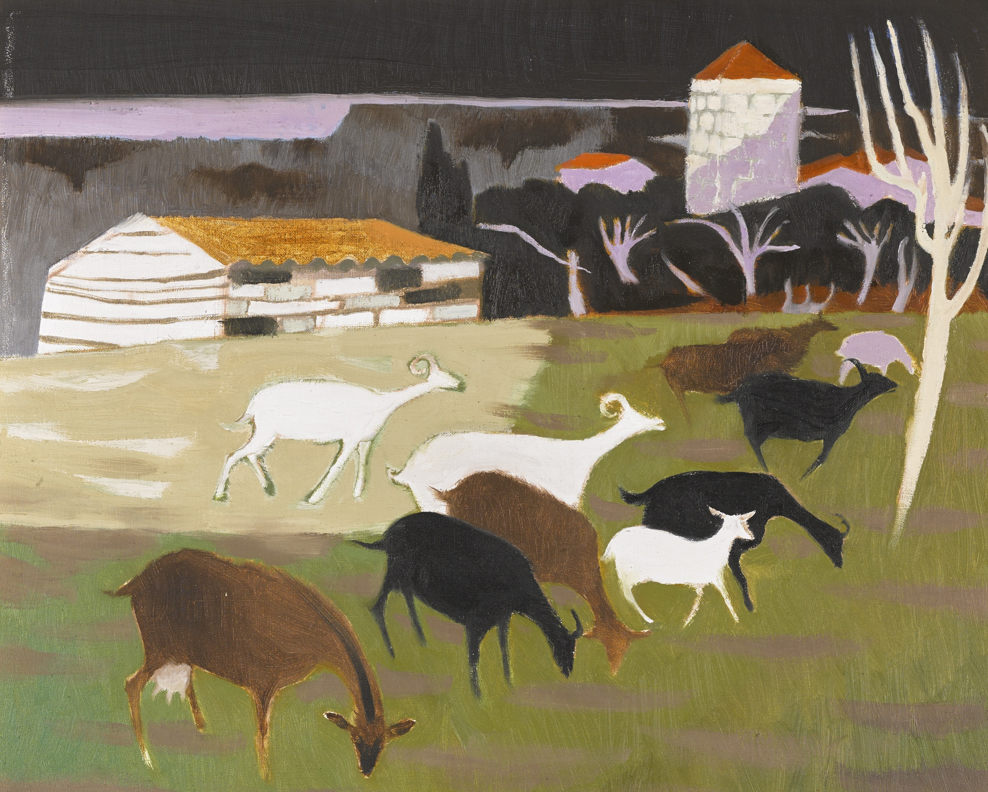Mary Fedden-Goats-