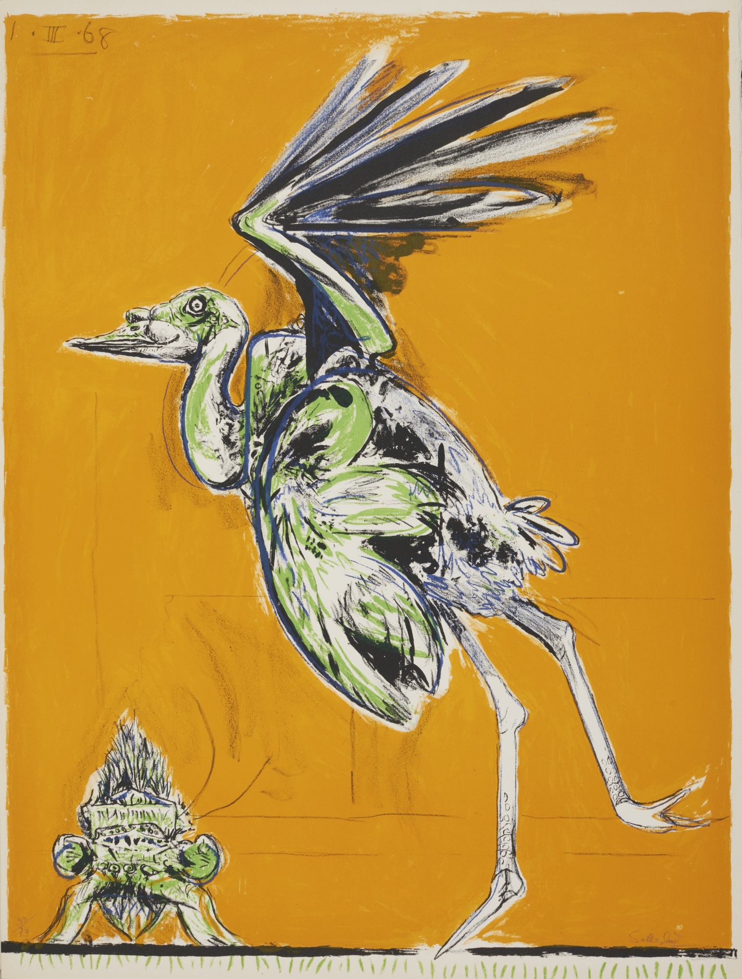 Graham Sutherland-A Bestiary And Some Correspondences (Tassi 81-85, 87-89, 91-106, 108-109)-1967