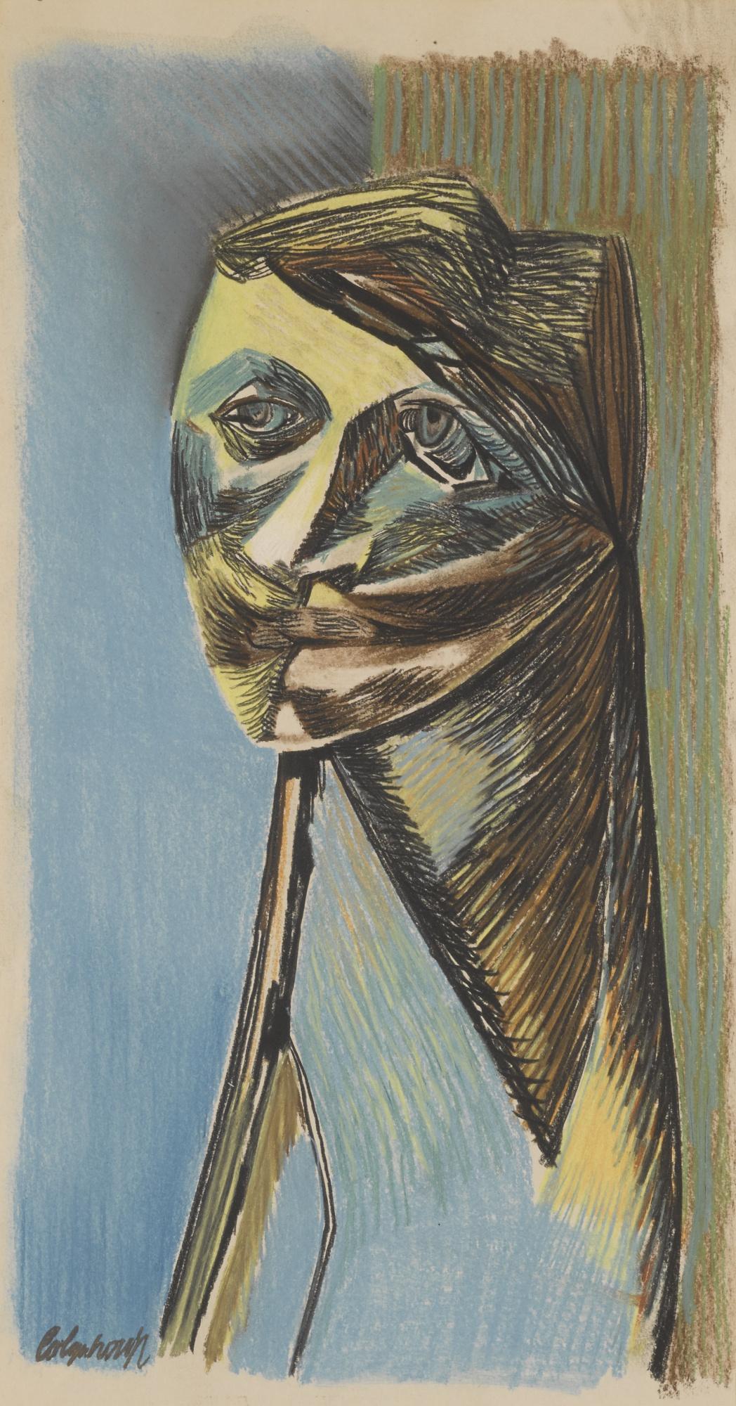 Robert Colquhoun-Woman In Green-1957