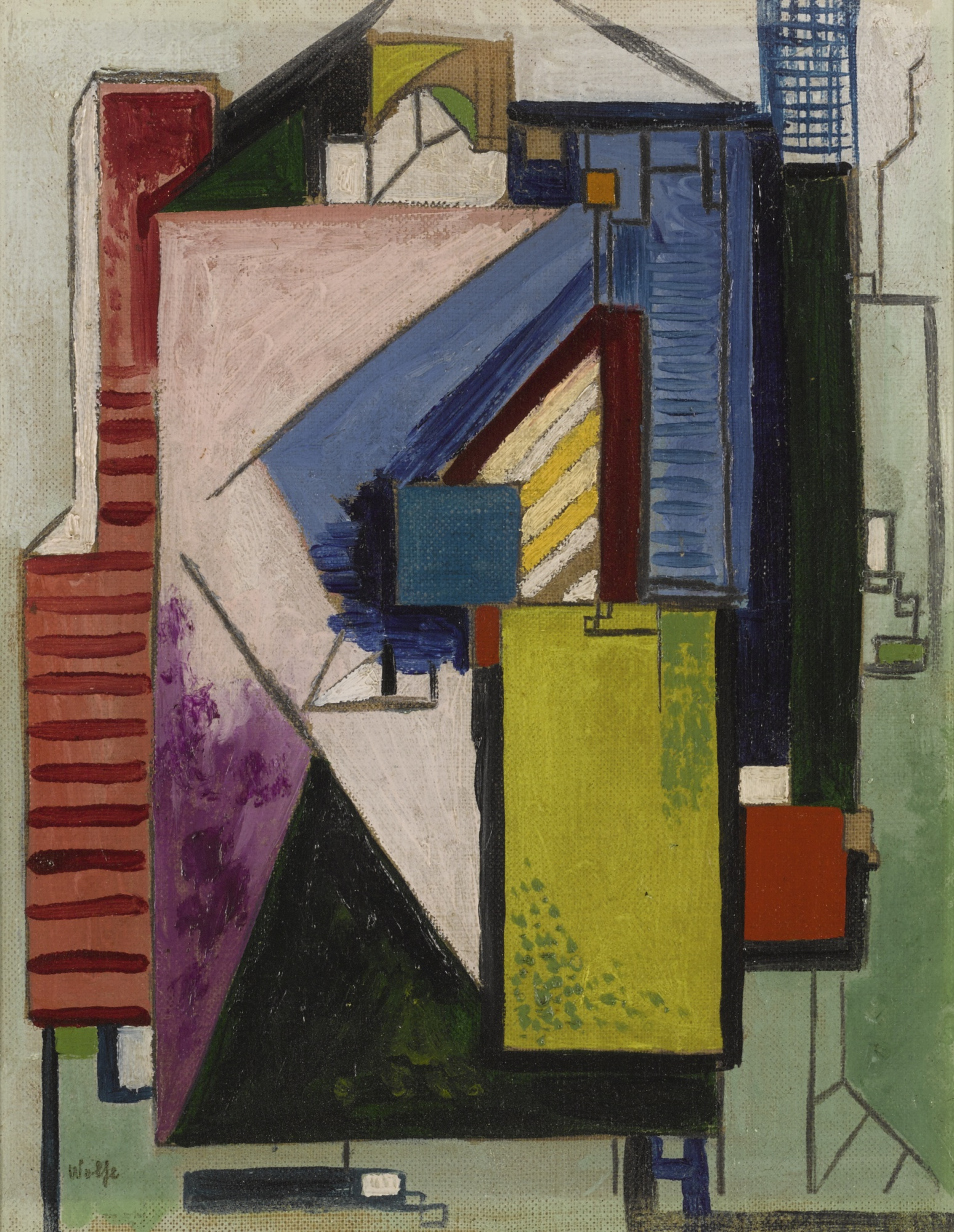 Edward Wolfe-Abstract-